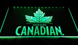 Wholesale Molson Beer - LS994-g-molson canadian beer bar pub club 3d signs LED Neon Light Sign Decor Free Shipping Dropshipping Wholesale 6 colors to choose