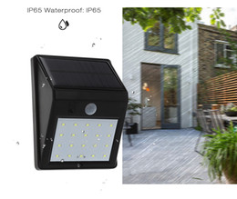 Wholesale Indoor Motion Lights - 12 LED Waterproof IP65 Solar Light Powered Wireless PIR Motion Sensor Light Outdoor Garden Landscape Yard Lawn Security Wall Lamp