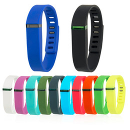Wholesale Fitness Motion - For Fitbit Flex Replacement Rubber Band Smart Wristband Bracelet Wrist band Large Small With Fitness Health Motion Outdoor Fashion Free DHL