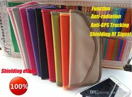 Wholesale Gps Bag Case - New DW5.5 Oxford cloth Anti-radiation Anti-Signal pregnancy radiation protector Anti radiation Signal GPS Cell Phone case bag