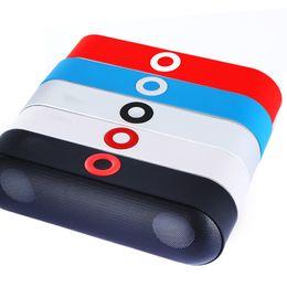 Wholesale Mini Boombox Bluetooth - Mini NBY-18 Bluetooth Speaker 3D Surround Stereo Subwoofer HIFI Wireless Portable Speakers Boombox Bluetooth Music Receiver
