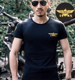 Wholesale Adventure Clothing - Summer new men's short-sleeved T-shirt outdoor adventure fitness clothing super-elastic cotton T-shirt printing