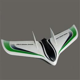Wholesale Z Wing - Wholesale-Wing Wing Z-84 Z84 EPO 845mm Wingspan Flying Wing KIT Green
