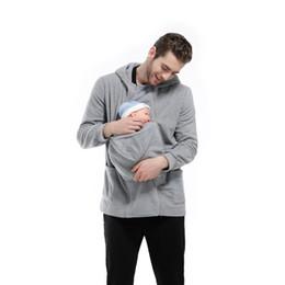Wholesale Kangaroo Baby Bag - The 2017 kangaroo multifunctional dad sweater baby sleeping bag