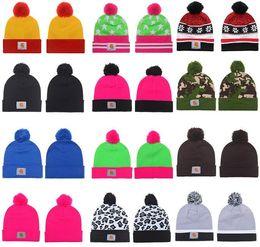 Wholesale Silk Cashmere Knitting Yarn - New Fashion 2017 Winter warm Hip Hop Skullies Diamond Beanie Knitted Winter Hats for man women Bonnet sports Knit Warm Cap Carhart Hat