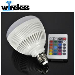 E27 Smart RGB Sans Fil Bluetooth Haut-parleur Ampoule Musique Jouer Dimmable 12W LED Ampoule Lampe avec télécommande ? partir de fabricateur