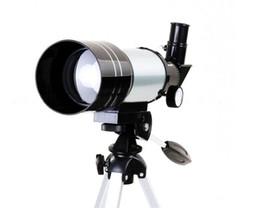 Trípode telescópico online-Al por mayor-150x Refractivo Monocular Astronómico Space Zoom HD telescopio para acampar al aire libre deportes regalos con trípode HWF30070