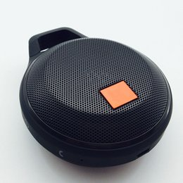 Wholesale High Power Audio - New Clip + wireless Bluetooth Speaker Subwoofer hot outdoor Sports waterproof Mini TF Card Bluetooth 4.1 Speakers High Power universal