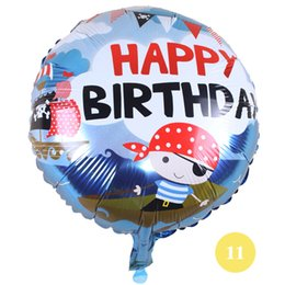 Wholesale Theme Party Supplies Wholesale - 18 inch wholesale mixed styles happy birthday theme alumium balloons party gifts child toys balloons supplies