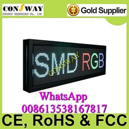 """Wholesale Moving Display Boards - Freeshipping led moving board display with size 53.5""""*15.7"""" and RGB color"""
