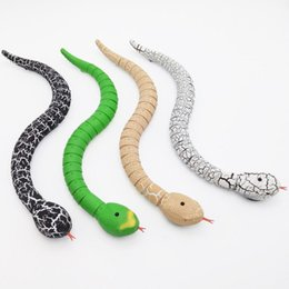 Wholesale Remote Snake - New Funny Gadgets Toys Novelty Surprise Practical Jokes RC Machine Remote Control Snake And Interesting Egg Radio Control Toys