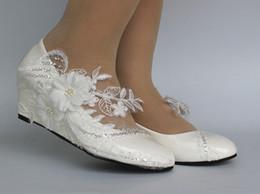 Rabatt Ivory Brides Shoes 2019 Elfenbein Braute Schuhe Im Angebot