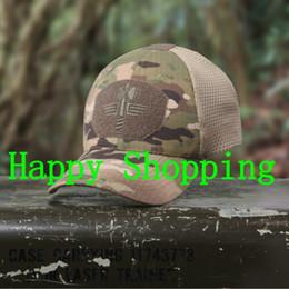 Wholesale Mesh Snapbacks - Camouflage Baseball Cap Tactical Mesh Sun Hat Outdoor Leisure Sports Cap