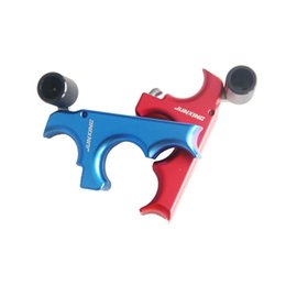 Wholesale Blue Compound - New dispenser upgraded stainless steel dispenser hand style red Blue bow and arrow accessories