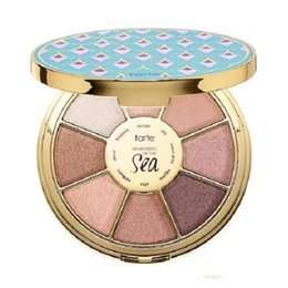 Wholesale Epacket Ship - Free Shipping by ePacket New Makeup Face Tarte limited-edition Rainforest of the Sea Highlighters Eyeshadow Palette 8 colors