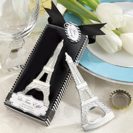 Wholesale Iron First - The Eiffel Tower Bottle Opener Recuerdos Para Bautizo Baby Shower First Communion Gifts Wedding Favours Gift For Guest S201759