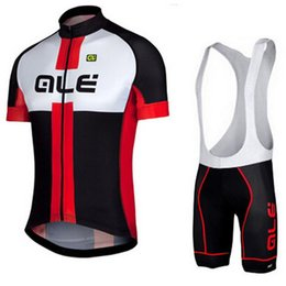 Wholesale Team Cycling Vests - 2017 ALE team Cycling jersey bicycle clothing suit Ropa Ciclismo   breathable vest jersey mountain earth clothing