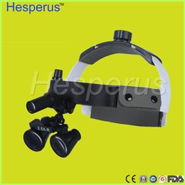 Wholesale Loupe Glasses Dental - Low price! magnifying glasses dental and surgical loupes for sale, led light with dental loupe