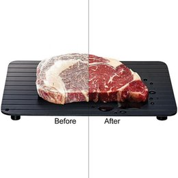 Wholesale Microwave Safe - High Quality Fast Defrosting Tray - The Safest Way to Defrost Meat or Frozen Food Quickly Without Electricity, Microwave, Hot Water