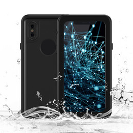 Wholesale Iphone Waterproof Case Redpepper - Waterproof Case For IPhone X Redpepper Dot Series IP68 Dive Swimming Slim Dustproof Shockproof Phone Cover with Retail package