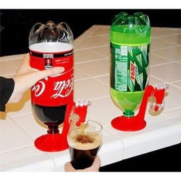 Wholesale New Coke Dispenser - Fashion New Hot Sale Soda Saver coke cola drinks Dispenser Bottle Drinking Water Dispense Machine Drinkware