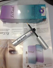 Wholesale Eye Purified - LiLash Eyelash Growth Treatments Eyelash makeup Top Quality Purified Eyelash Serum (5.91 ml) 0.2 for Fast Eye lash Growth Free Shipping
