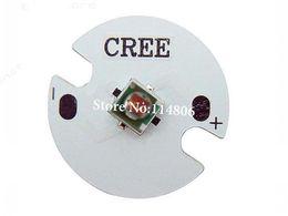 Wholesale Cree Star - Wholesale- 5pcs 3W Cree XPE XP-E Red 620nm LED Light With 16mm PCB Star Base 90LM 2~2.4V