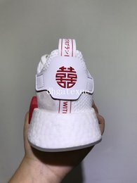 Wholesale Womens Chinese - Free Shipping NMD R2 Chinese New Year Running Shoes Mens Womens NMD XR1 Chinese New Year Sneakers Size 36-44
