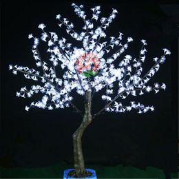 Wholesale Led Cherry Trees - LED Cherry Blossom Tree Light 5ft 540pcs LED Bulbs 1.5m Height 110V 220V Seven Colors for Option Outdoor Rainproof yard garden decoration