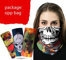 Wholesale magic cans - mulit color Multifunctional magic sport scarf microfiber polyester Seamless magic scarf Riding hood Can be customized