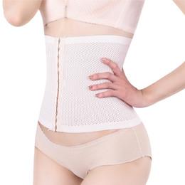 Wholesale Tummy Firming Wrap - Wholesale- Women Stomach Shapers Waist Shaper Body Shaper Women Underwear Seamless Weight Loss Stomach Wrap Tummy Control Belt