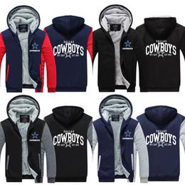 Wholesale Top Coat Cosplay - COWBOYS Cosplay Coat Hoodie Winter Fleece Unisex Thicken Jacket Sweatshirts Tops