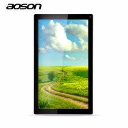 Wholesale Cheap Dual Camera Tablets - Wholesale- Cheap 8Gb Tablets 10.1-inch Android Tablet PC Aoson M1016C Quad Core Allwinner A33 Android 4.4 Dual Cameras Android WiFi Tablet