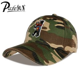 Wholesale Little Bear Hat - Wholesale- PATESUN Snapback Cayler&Son Dabbin Crew Brand Baseball Caps Men Little Bear fitted Dad Hats camouflage bone trucker gorras mujer