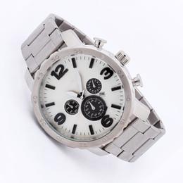 Wholesale Military Clock Time - Men Sports Watch Quartz Military Watches Men Luxury Brand Steel Oversize Dual Time Clock Men 30M Waterproof Sport Wristwatch