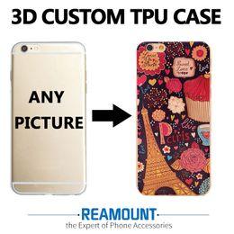 Wholesale Wholesale Aztec Iphone Cases - 30 pcs  lot Embossed Feel Aztec Animal Elephant Chimpanzee Cat Deer Phone Case For iPhone 7 5 5S SE 6s 6Plus 7Plus Fundas