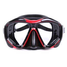 Wholesale Diving Equipment Set - Wholesale- WHALE Diving Mask With Myopia Lens Professional Scuba Glasses Goggles For Underwater Snorkel Swimming Set Accessories Equipment