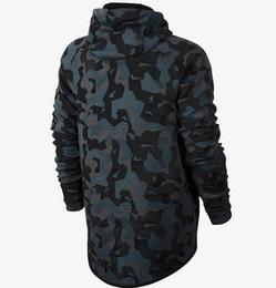 Wholesale Long Zip Hoodie Jacket - Asia Size NK plus velvet thickening casual jacket, WINDRUNNER Tech Sphere Full-Zip FLEECE CAMO Hoodies Sweatshirts