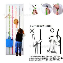 Wholesale Selling Eco Bags - UPDN HOOK Behind The Door Lanyard Free Nail Hook Adjustable Height Three Dimensional Storage Bag Hot Sell 3 5cj J