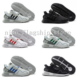 Wholesale Coring Equipment - 2017 EQT Cushion ADV Europe Exclusive 91-17 Mens Running shoes Core Black white Blue Red Women Equipment Outdoor Athletic sneaker EUR 36-44