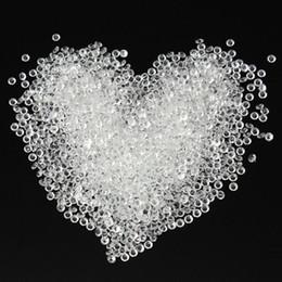 Wholesale Diamond Confetti Colors - Wholesale- 28 colors 2000pcs 1 3ct 4.5mm Wedding Decoration Scatter Table Crystals Diamonds Acrylic Confetti Party Decoration Free Shipping