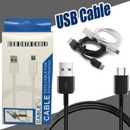 Wholesale Cable Wire Box - Micro USB Cable Type C Charger Cables Charging Cable Wire Cords Sync Data Cable Adapter For Samsung With Retail Box