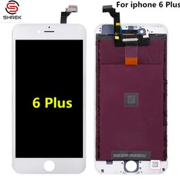 Wholesale 3d Frames For Sale - Factory Sales iPhone iPhone 6 Plus LCD Display AAA+ Grade 3D Touch Digitizer Screen with Frame Full Assembly Replacement free shipping