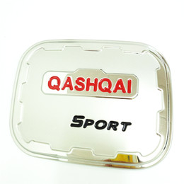 Wholesale Nissan Stainless Steel - NEW Arrival Nissan Qashqai 2015-2017 Stainless Steel Fuel Tank Cover Decorative Trim Car Styling Fuel Tank Cap Decorative Cover AT3505