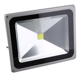 Wholesale outside security - 1Pc 50W LED Outdoor Outside Garden Garage Drive Security Wall Flood RGB Light