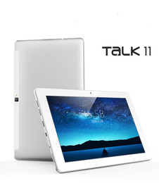 Wholesale Pc Phone Talk - Wholesale- 2016 Cube Talk 11 Talk11 MTK8321 Quad Core 1.3GHz Tablet PC 10.6inch 3G Phone Call 1366*738 IPS 1GB 16GB Android 5.1