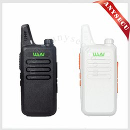 Wholesale 5w Uhf Handheld - Wholesale- WLN KD-C1 Mini Walkie Talkie UHF 400-470 MHz 5W Power 16 Channel MINI-handheld Transceiver Better Then BF-888S