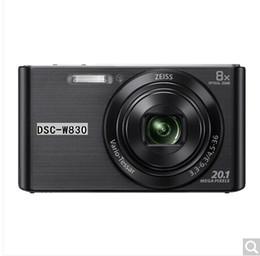 Wholesale Dsc Battery - DSC-W800 digital camera 2010 million pixels 5x optical zoom 2.7 inch screen 26mm wide-angle intelligent shooting panoramic scan