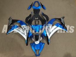 Wholesale Zx 14 Fairing Set - New ABS Injection Fairing Kit Fit For kawasaki Ninja ZX10R 11 12 13 14 15 ZX-10R 2011 2012 2013 2014 2015 bodywork Set silver blue black