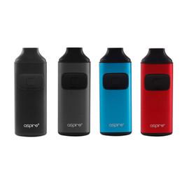 Autentica Aspire Breeze starter kit all-in-one AIO dispositivo con 650mAh Batteria 2ml serbatoio U-tech Coil per Flavorful Vape 100% originale da buoni mod moduli fornitori